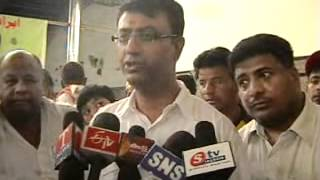 mohammed pahelwan and amjed ullah khan interview at blood donation camp wmv