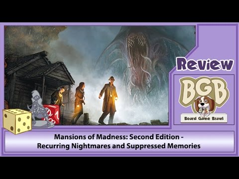 Mansions of Madness: Second Edition - Recurring Nightmares and Suppressed Memories review