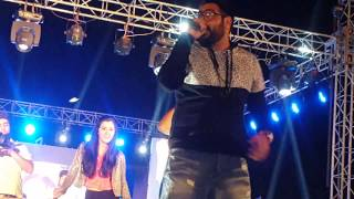 "Badshah live at Agra""ABHI TOH PARTY SHURU HUI HAI"""