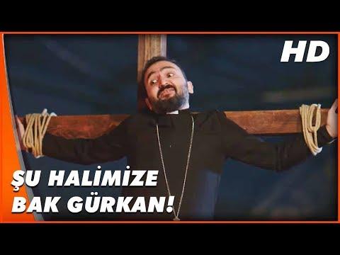 Hep Yek 3 | Altan ile Gürkan, Çarmıha Gerildi! | Türk Komedi Filmi