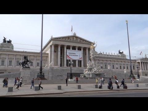 Vienna, Austria - Austrian Parliament Building HD (2013)