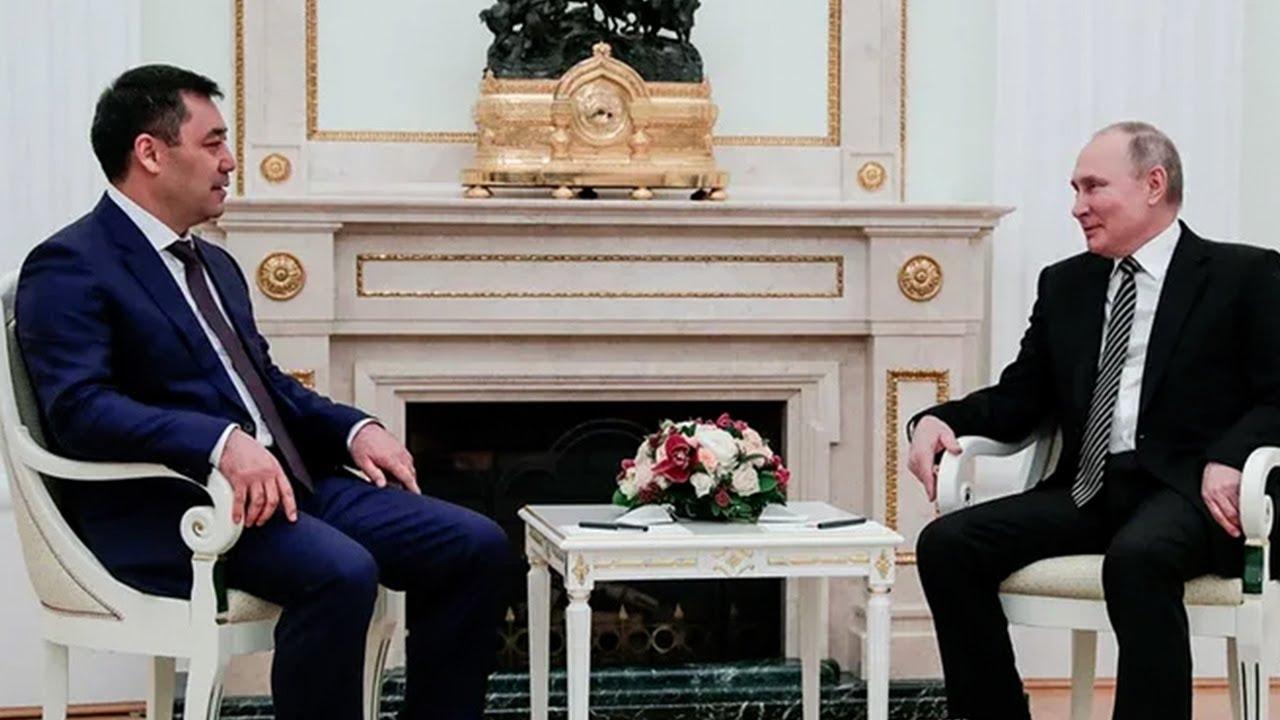 Союзнические узы: о чем говорили Путин и Жапаров во время первой встречи