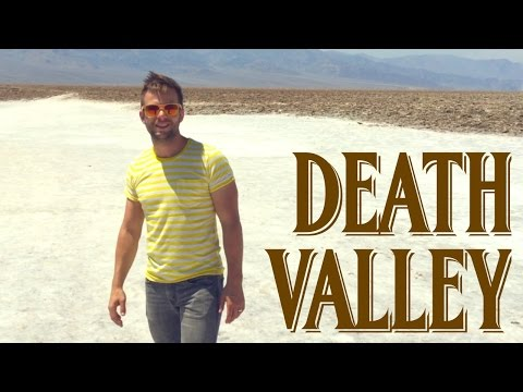Traveling Tom & Lowest Point In Western Hemisphere - Death Valley National Park