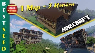 Drei Woodland Mansions auf einer Map - Ein absolutes Paradoxon || Minecraft Best Seed No. 24