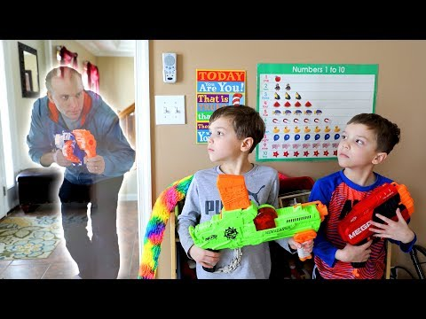 Nerf War:  Stranger Things