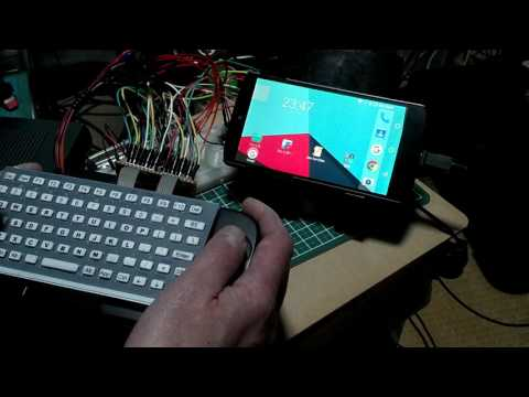 DIY Arduino Micro USB QWERTY small Keyboard (USB小型自作キーボード)