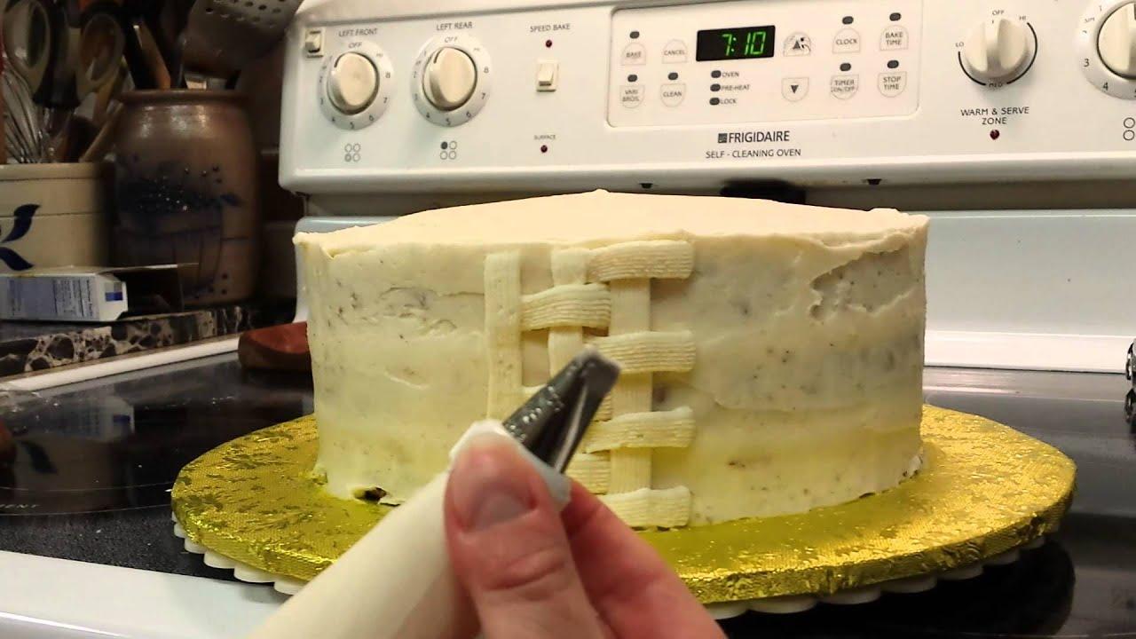 Cake Decorating Part 1 of 4 - YouTube