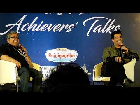 How to get success in Bollywood | Karan Johar interview with Rajeev Masand 02 | | Kaptain Studios