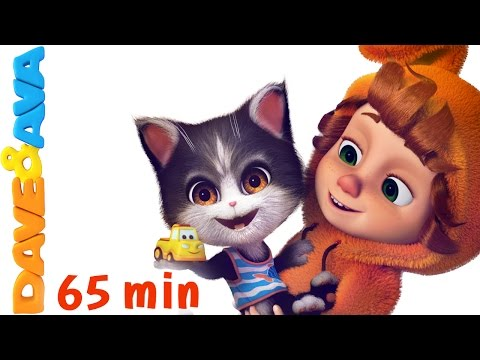 Thumbnail: 🔥 Ten in the Bed | Nursery Rhymes Collection | Educational Songs for Toddlers from Dave and Ava 🔥