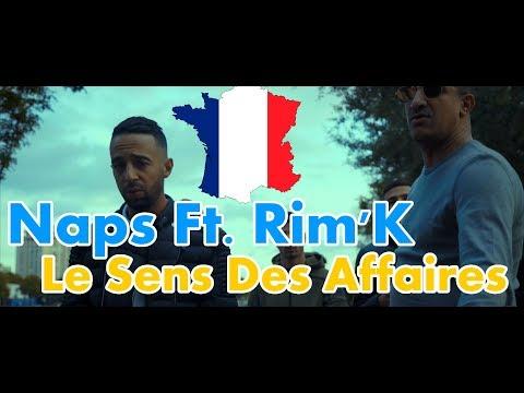 GERMAN REACTS TO FRENCH RAP: Naps Ft. Rim'K - Le Sens Des Affaires | cut edition