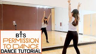 Bts 방탄소년단 Permission To Dance Lisa Rhee Dance Tutorial