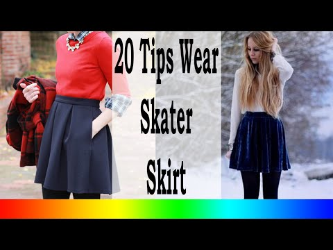 Skater Skirt Outfits - 20 Style Tips On How To Wear Skater Skirts In The Winter