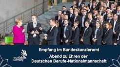 Bundeskanzlerin Merkel empfängt Team Germany - Abend zu Ehren der Nationalmannschaft