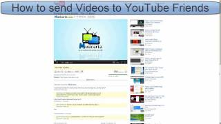 How to send Videos to all YouTube Friends