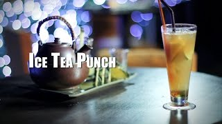 Passionfood Network : Mocktail Ice Tea Punch By Attica Sky Lounge