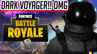 Finally unlocking DARK VOYAGER no buying tiers needed-Fortnite:Battle Royale