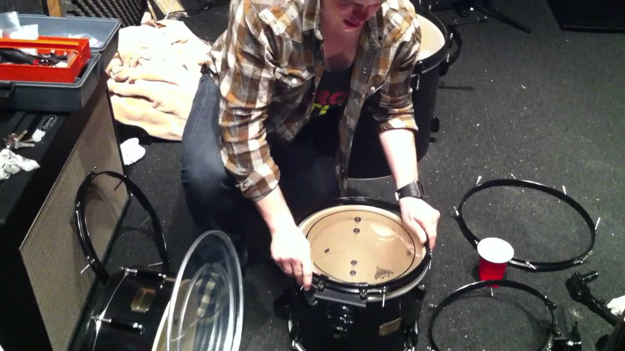 HOW TO MAKE YOUR CHEAP DRUM SET SOUND AMAZING  PART 1    YouTube