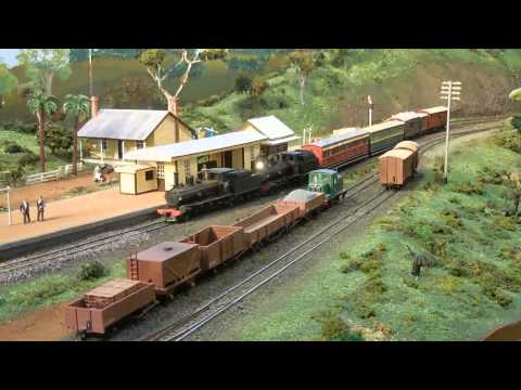 Swanview Layout at the 2015 AMRA-WA Exhibition