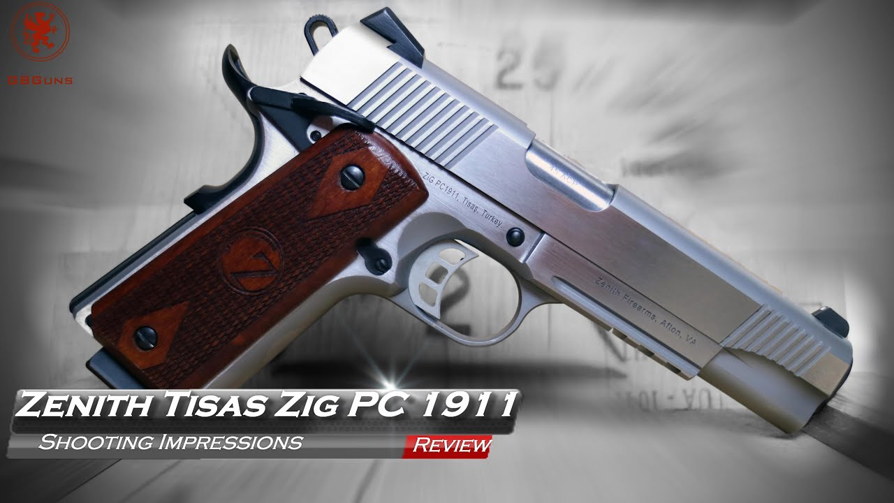 Tisas ZIG PC 1911 by Zenith Shooting Impressions