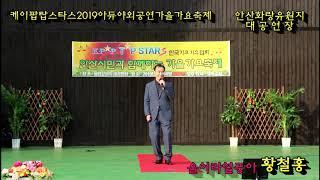 케이팝탑스타스/2019아듀야외공연/가수 황철홍 /울어라…