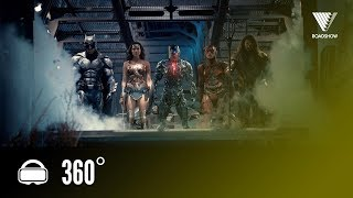 Experience JUSTICE LEAGUE In 360!