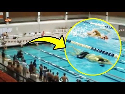 На Одном Дыхании Всю Дистанцию! Спортсмен Выиграл Соревнования Благодаря Своим Навыкам Дельфина