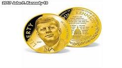 American Mint John F  Kennedy Commemorative Coins