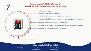 LFRM - 10 razones para elegirnos