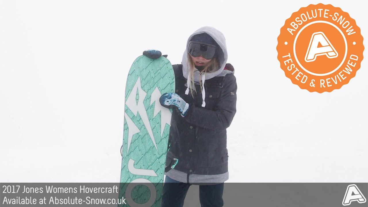 2016 2017 Jones Womens Hovercraft Snowboard Video Review Youtube Jaket Hoodie Jumper Abslt Absolute Snow