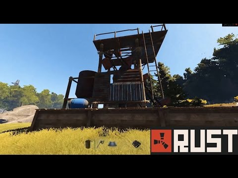 Rust Update 64: Mining Quarry & Water Catchers