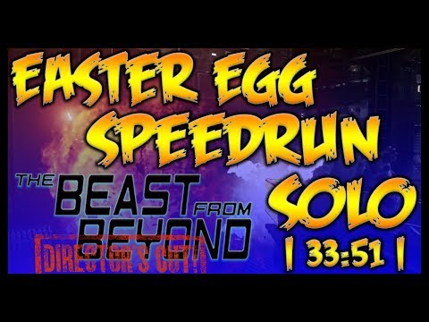 Beast From Beyond Solo Easter Egg Speed Run [Director's Cut] | Infinite Warfare [IW] (1080p60fps)