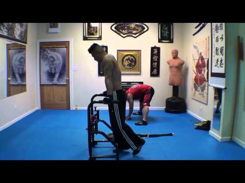 Wushu Heavy Weight Total Body Fitness Training - May 10 2013