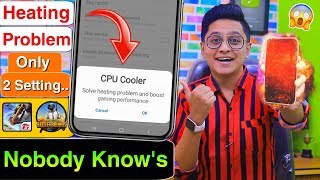 How to Fix Android Phone Heating Problem Permanently | Powerful CPU Cooler Free Fire PUBG Player Tip screenshot 1