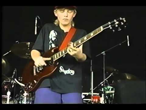 13 year old Derek Trucks destroys Layla-- July 4th 1993 (/ Matthew Jelling)