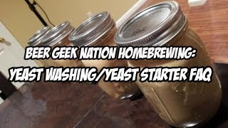Yeast Starter/yeast Harvesting Frequently Asked Questions | Beer Geek Nation Craft Beer Reviews