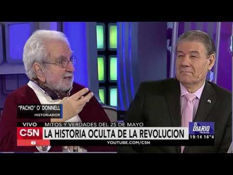 C5N - El Diario: Entrevista a Pacho  O' Donnell
