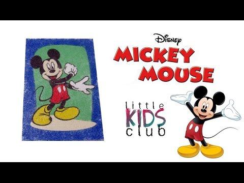 Mickey Mouse Kum Boyama Youtube