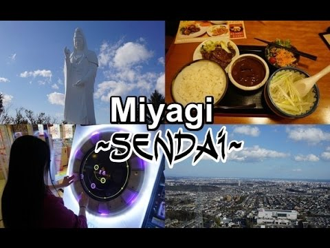 MIYAGI - Sendai・仙台|Daikannon, Eating Gyutan and Arcades (Japan Travel Vlog #5)