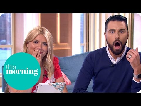 Rylan Gets A Surprise Call During The Phone-In | This Morning