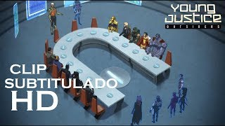 Young Justice 3x01- Reunion de la Justice League Clip - Subtitulado en Español