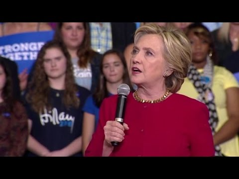 Clinton slams Trump for buying Chinese steel