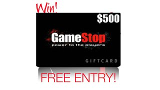 Gamestop Gift Card    Enter Survey To Win $500 Gamestop Gift Cards Or Visa Gift Card