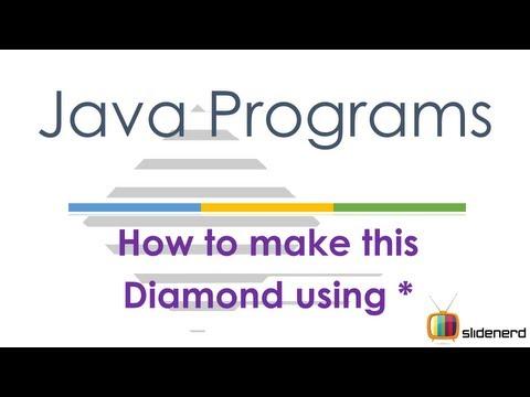 61 Java Patterns The Diamond Part 1 |