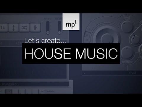 Logic Pro X – LET'S CREATE: House Music