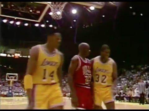 Michael Jordan Defense on Magic Johnson - 1991 Finals Game 5