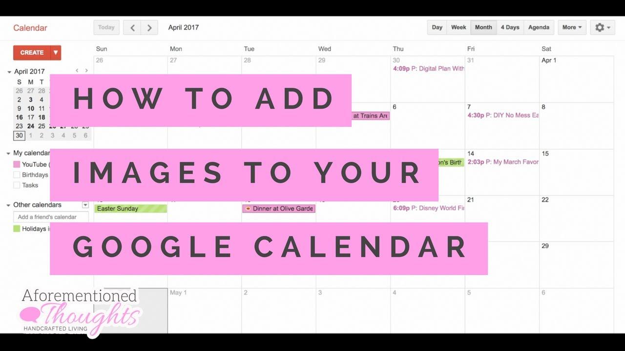How To Make Google Calendar Default To