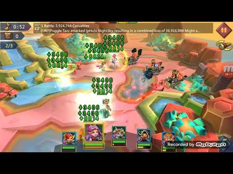 Lords Mobile Hero Stage Elite 6-18
