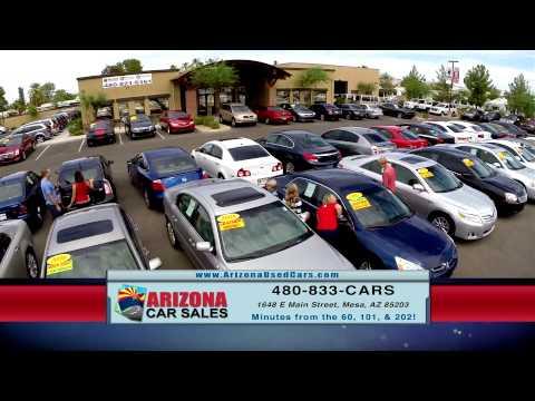Buy from a car dealer you can trust! Arizona Car Sales has an A+ Better Business Bureau Rating!
