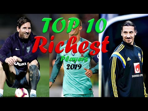 TOP10 Richest Football Players Of 2019 (Soccer)