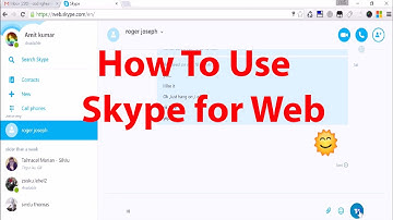 How To Use Skype For Web : Use Skype in Browser